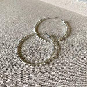 Stella & Dot Isadora hoop earrings